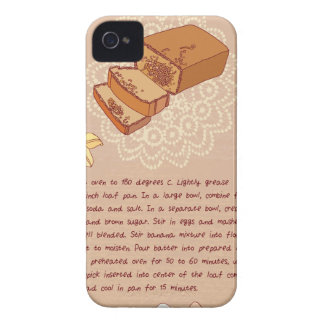 Banana Bread Day - Appreciation Day iPhone 4 Case-Mate Cases