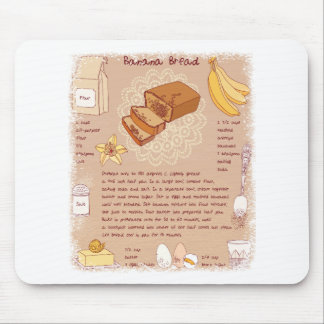 Banana Bread Day - Appreciation Day Mouse Pad