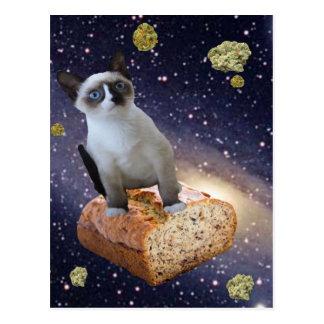 banana bread kat postcard
