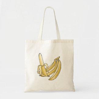 banana bunch budget tote bag