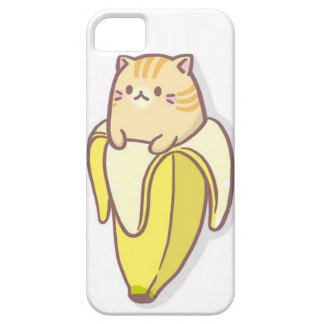 Banana cat barely there iPhone 5 case