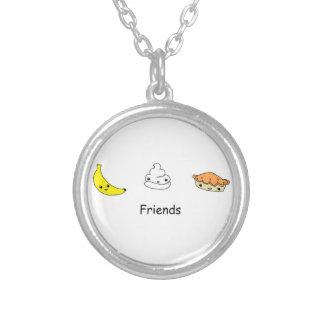 Banana Cream Pie Friends Necklace