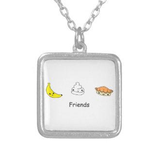 Banana Cream Pie Friends Personalized Necklace