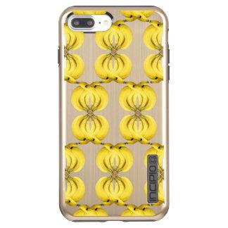 Banana Damask Golden Yellow Tropical Food Art Incipio DualPro Shine iPhone 8 Plus/7 Plus Case