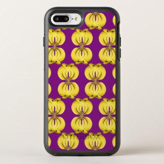 Banana Damask Golden Yellow Tropical Food Art OtterBox Symmetry iPhone 7 Plus Case