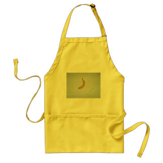 Banana design adult apron