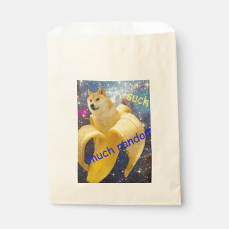 banana   - doge - shibe - space - wow doge favour bag