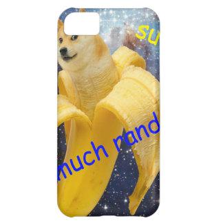 banana   - doge - shibe - space - wow doge iPhone 5C case