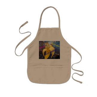 banana   - doge - shibe - space - wow doge kids apron