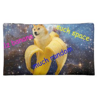 banana   - doge - shibe - space - wow doge makeup bag
