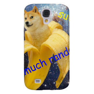 banana   - doge - shibe - space - wow doge samsung galaxy s4 covers
