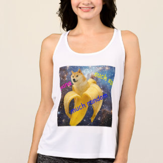 banana   - doge - shibe - space - wow doge singlet