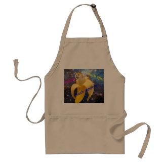 banana   - doge - shibe - space - wow doge standard apron