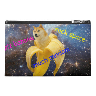 banana   - doge - shibe - space - wow doge travel accessories bags