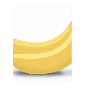 Banana Drawing Postcard