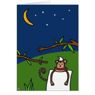banana dreams greeting card