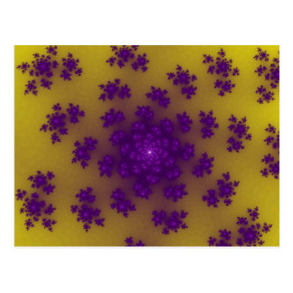 Banana Floral Sprinkles Postcards