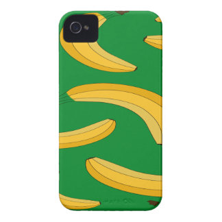 Banana fruit pattern iPhone 4 Case-Mate case