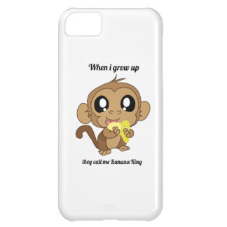 Banana King baby iPhone 5C Case