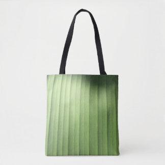 Banana Leaf Closeup Tote Bag