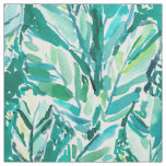 BANANA LEAF JUNGLE Green Tropical Fabric