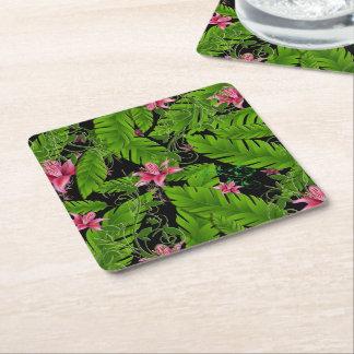 Banana Leaf Tropical Home Decor Coasters