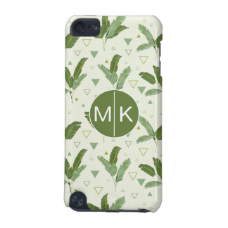 Banana Leaf With Triangles | Monogram iPod Touch 5G Case