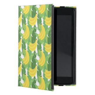 Banana Leaves And Fruit Pattern iPad Mini Cases