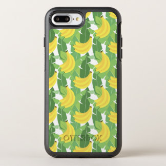 Banana Leaves And Fruit Pattern OtterBox Symmetry iPhone 7 Plus Case