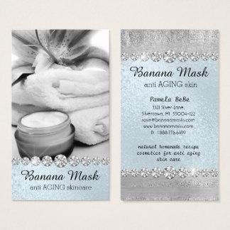 Banana Mask Skincare Cream Homemade Anti AGING Business Card