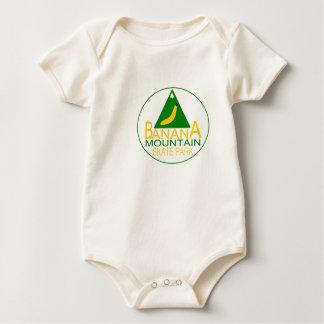 Banana Mountain Skate Park Baby Bodysuit