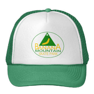 Banana Mountain Skate Park Trucker Hats