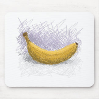 banana mouse pad