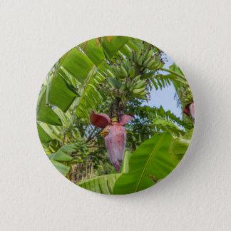 Banana plantation in Sok Kwu Wan Lamma Island 6 Cm Round Badge