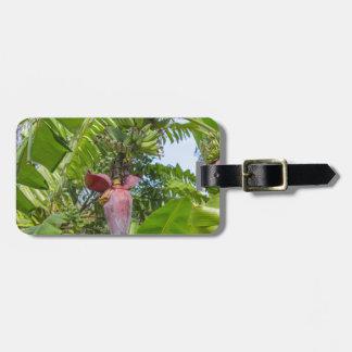 Banana plantation in Sok Kwu Wan Lamma Island Luggage Tag