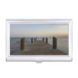 Banana River Dock Business Card Holder