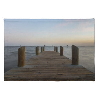 Banana River Dock Placemat