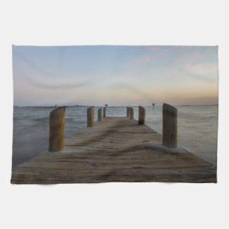 Banana River Dock Tea Towel