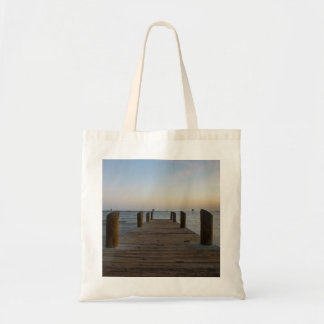Banana River Dock Tote Bag