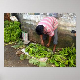 Banana Seller Poster