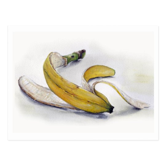 Banana skin Postcard