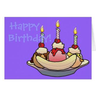 BANANA SPLIT BIRTHDAY by SHARON SHARPE Card