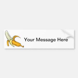 Banana Split Bumper Sticker