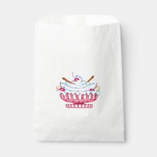 BANANA SPLIT FAVOR BAG White