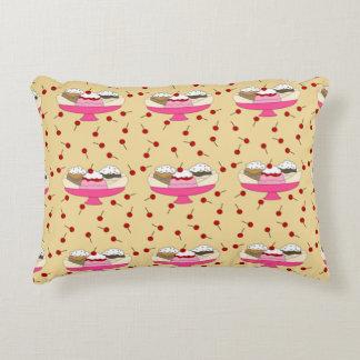 Banana Split Print Decorative Cushion