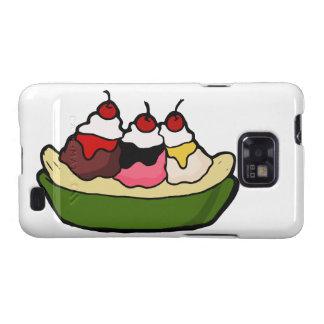 Banana Split Sweet Ice Cream Treat Samsung Galaxy SII Cover