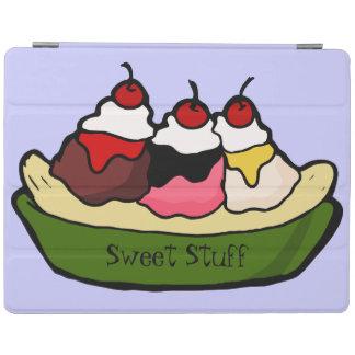 Banana Split Sweet Ice Cream Treat iPad Cover