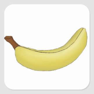Banana Sticker Digital Artwork