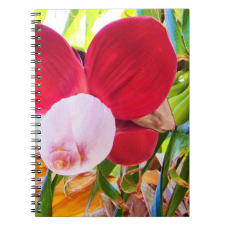 Banana Tree Bliss Spiral Notebook