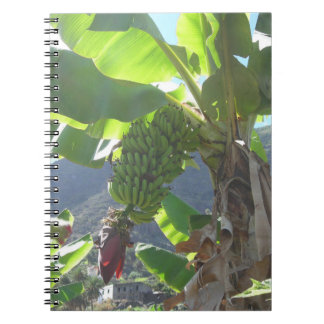 Banana Tree with Flower Notebook